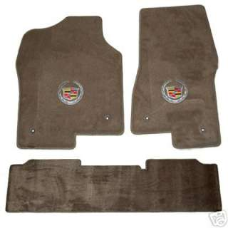 Cadillac Escalade Base/EXT/Hybrid Carpet Logo Floor Mats