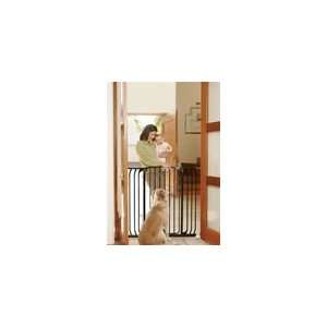 Bindaboo Pet Gate Swing Closed Security Gate, White Baby