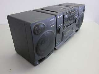 SONY AM/FM Radio / Cassette Tape / CD Player CFD 510 BOOMBOX